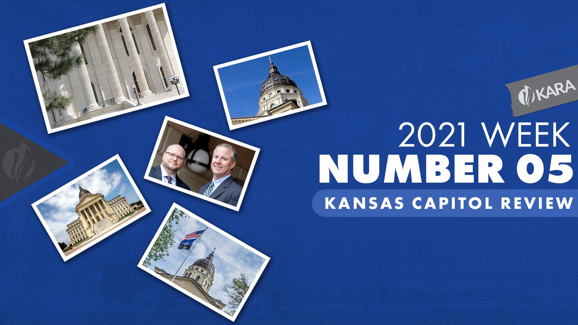 2021 Kansas Capitol Review Week Five