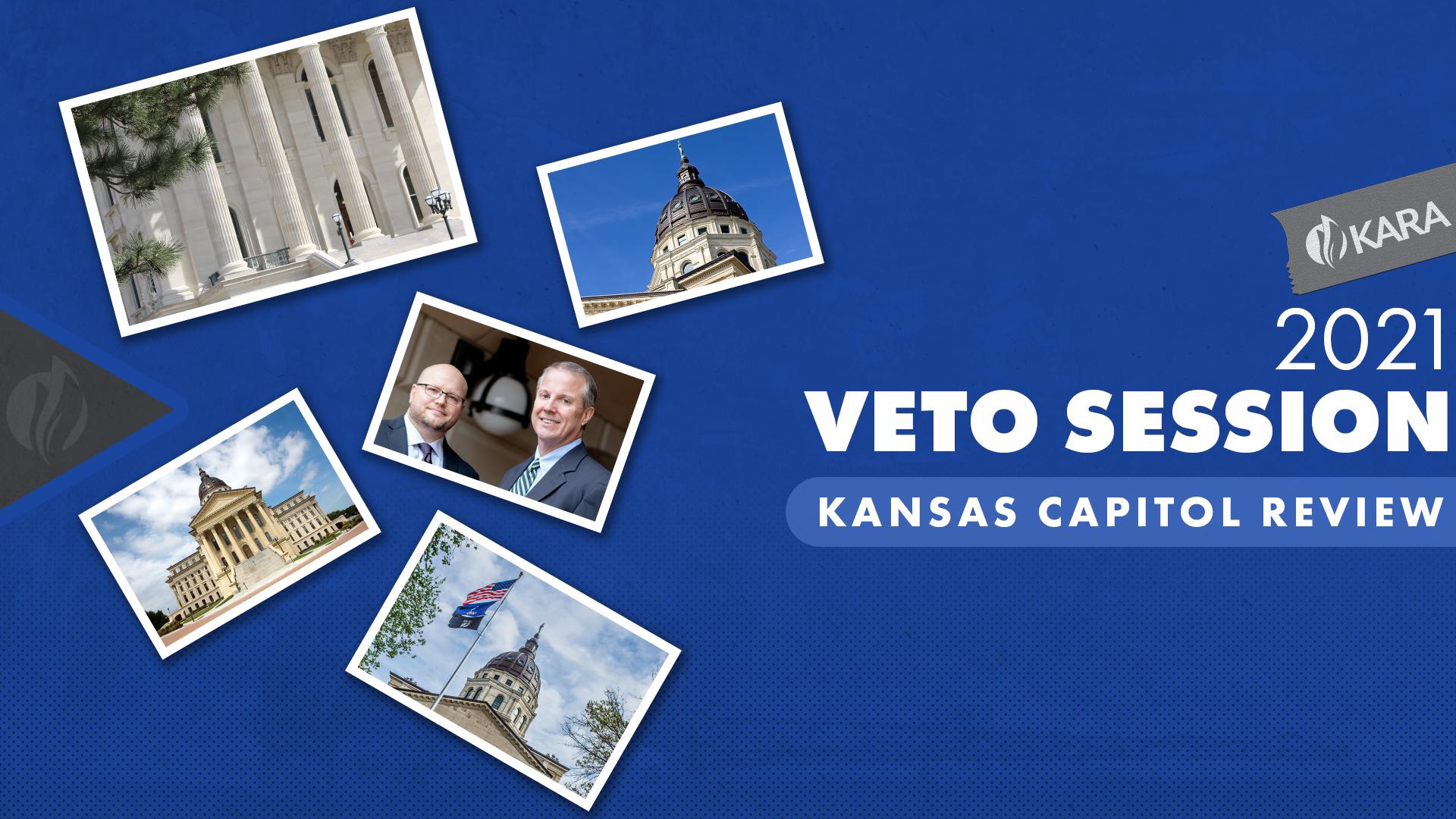 2021 Kansas Capitol Review Veto Session