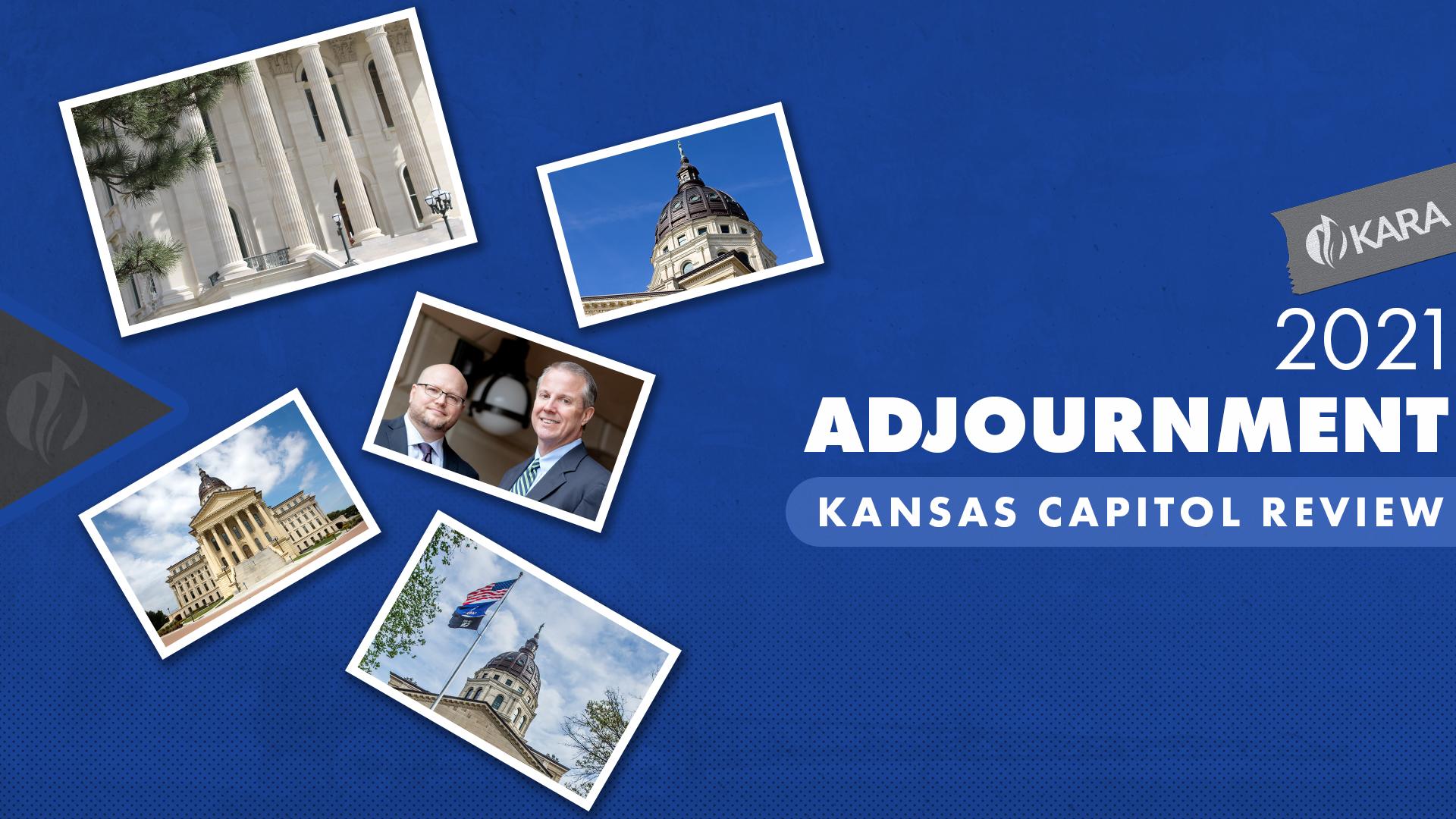 2021 Kansas Capitol Review Adjournment