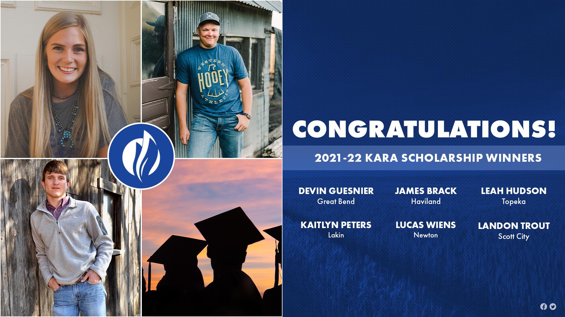 KARA Scholarship Winners